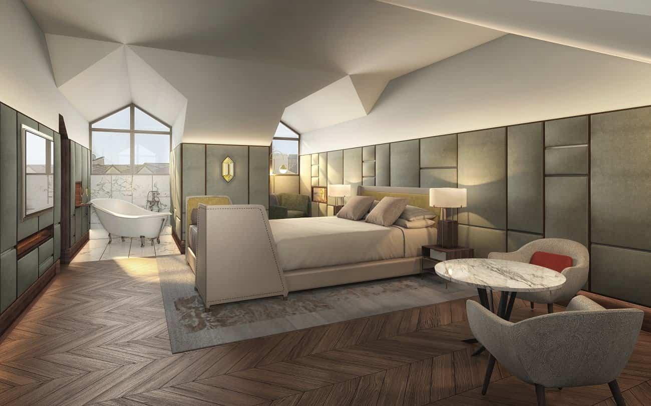 Gran Hotel Ingl S Un Hotel De Cinco Estrellas En Madrid  # Muebles Lobo Posada