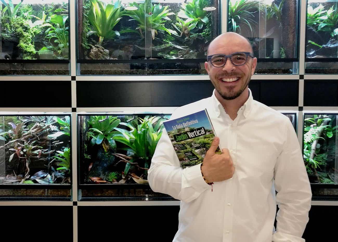 Ignacio Solano impartirá un nuevo curso sobre jardines verticales en Madrid