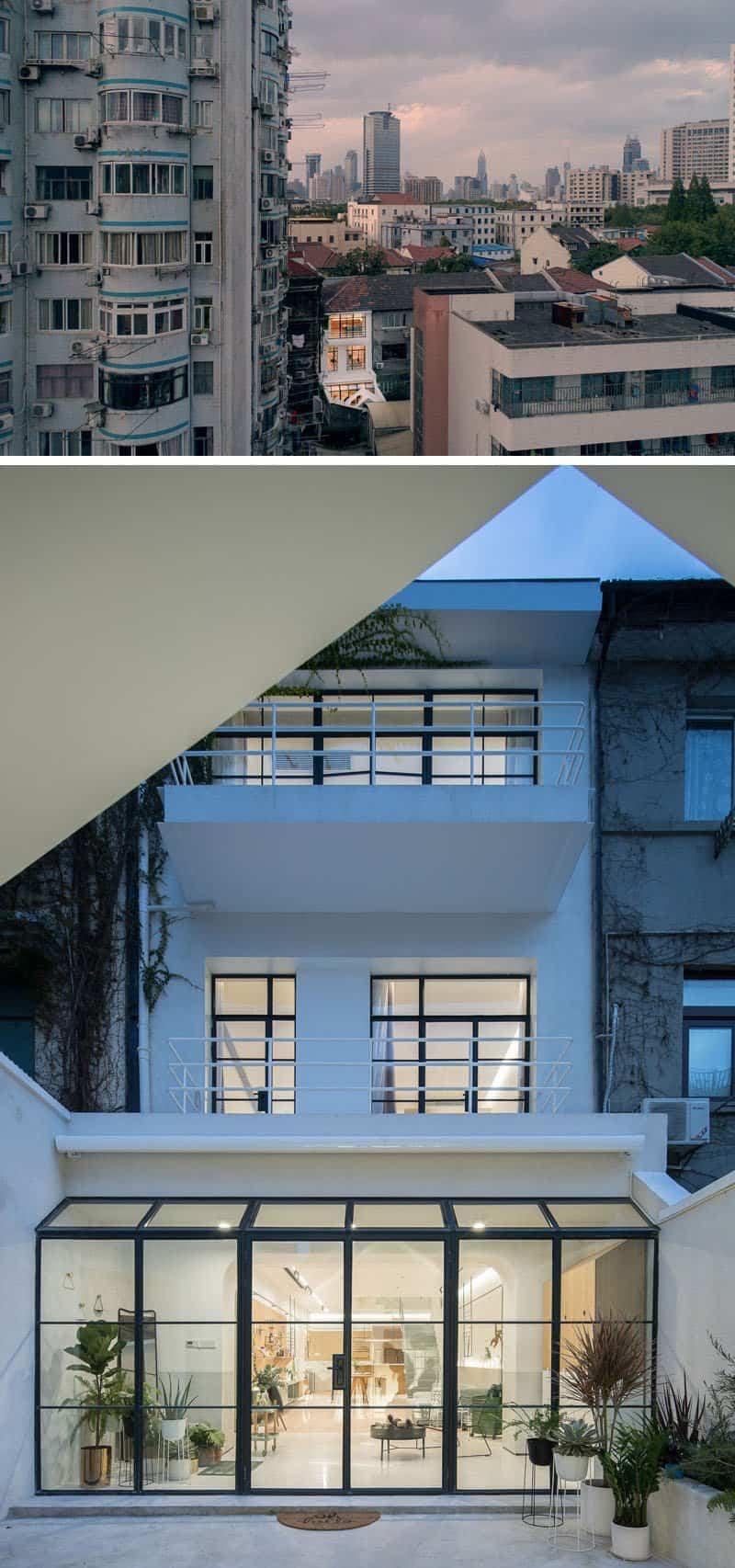 Un viejo edificio de los años 40 se reformó para convertirlo en un hogar luminoso