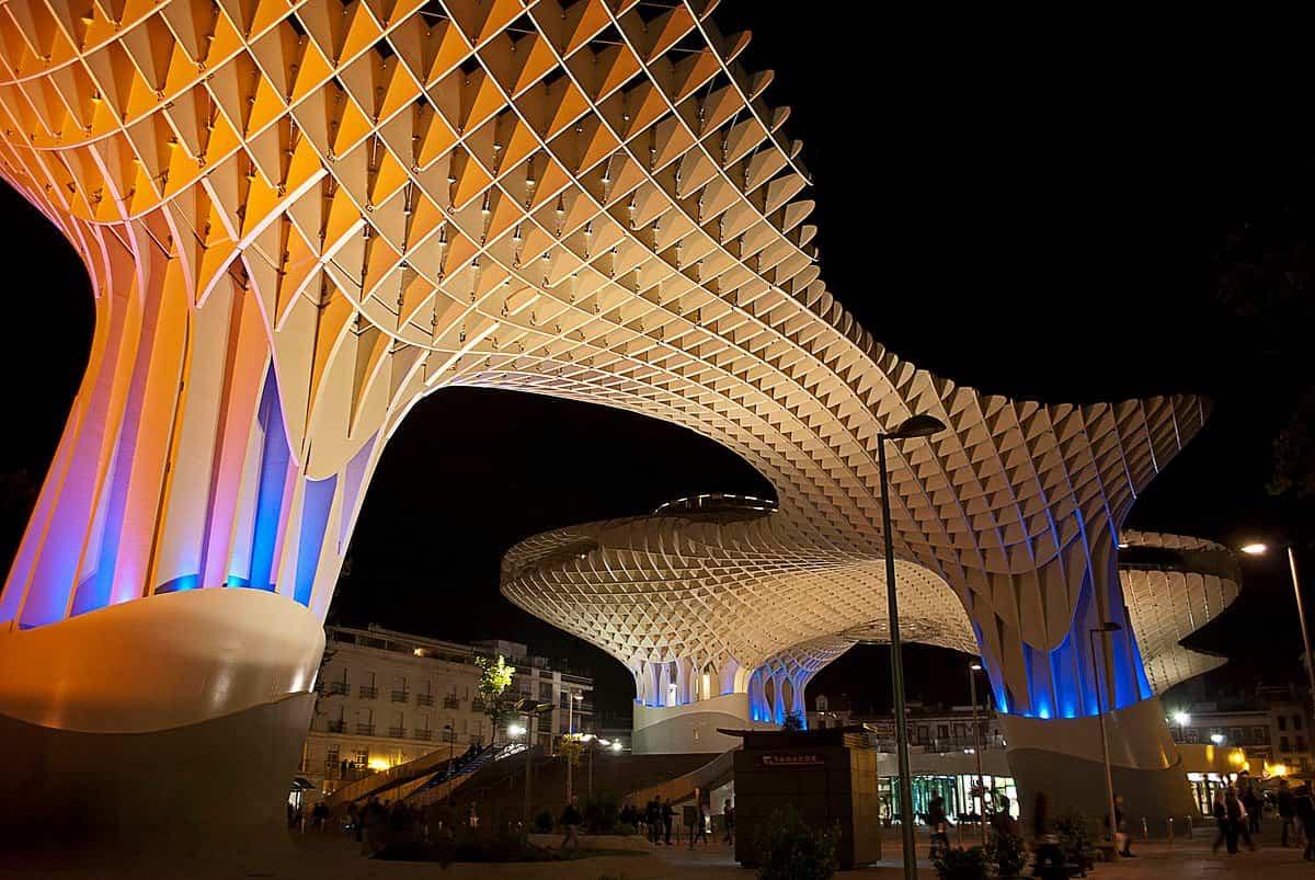 arquitectura moderna 1 metropol parasol