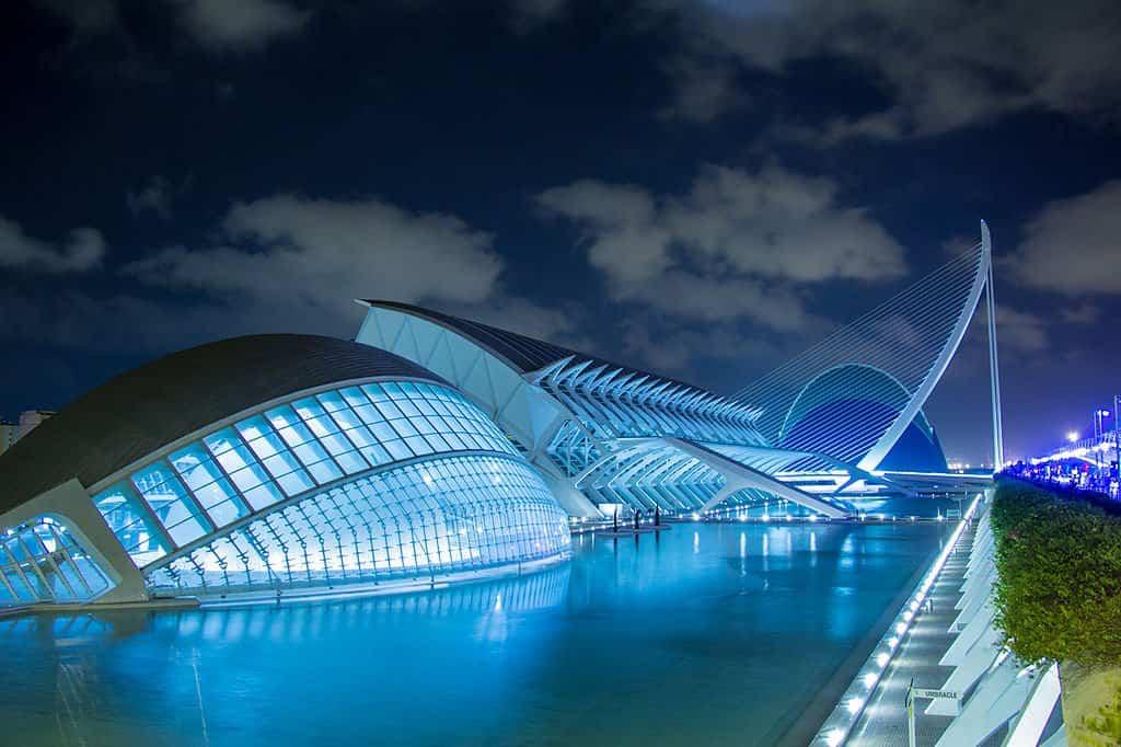 arquitectura moderna 2 ciudad de las artes y las ciencias