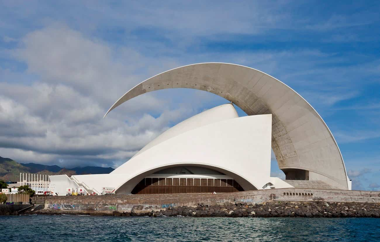 arquitectura moderna 6 auditorio de santa cruz de tenerife
