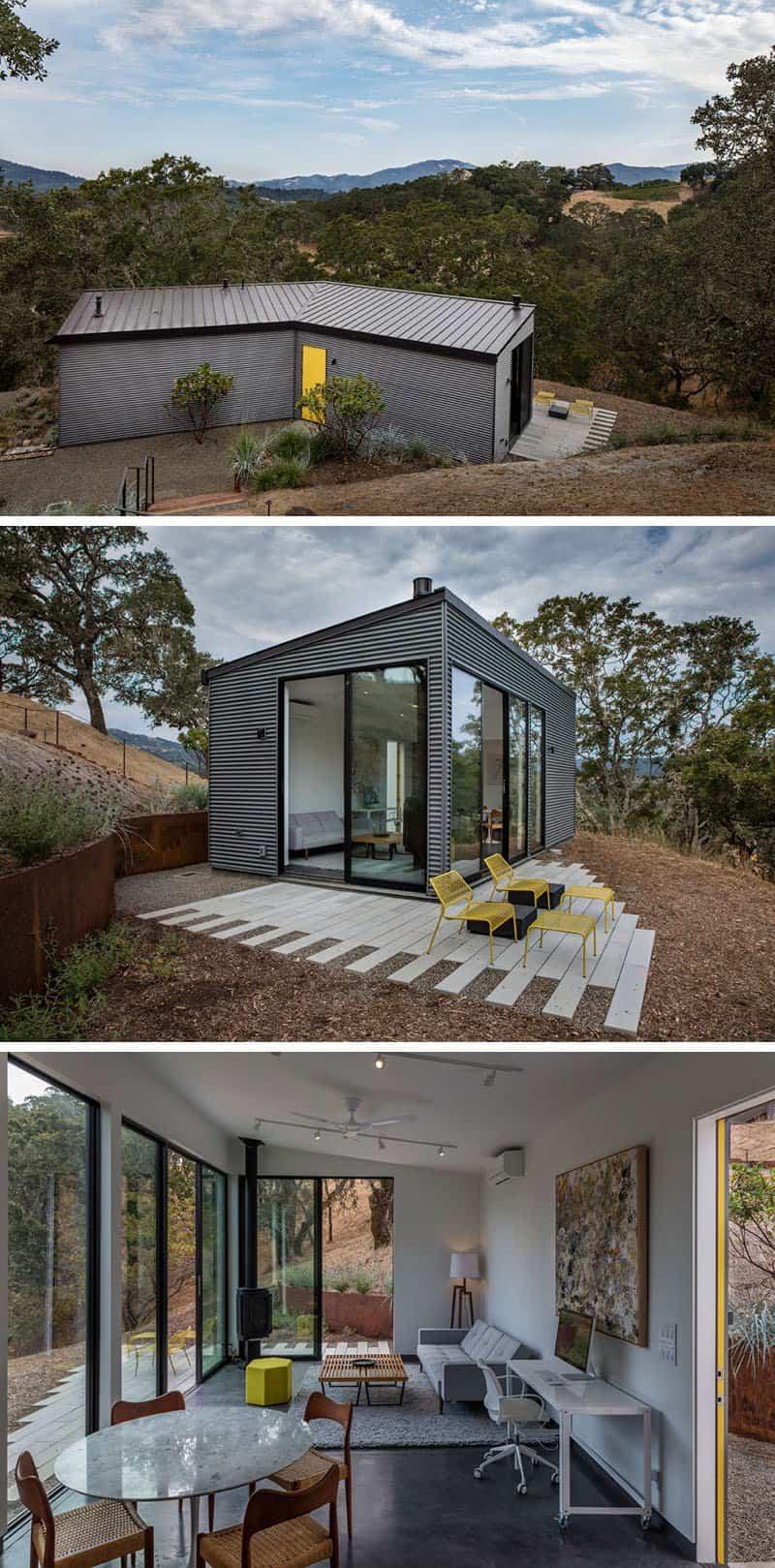 casa con vistas al valle de sonoma 13