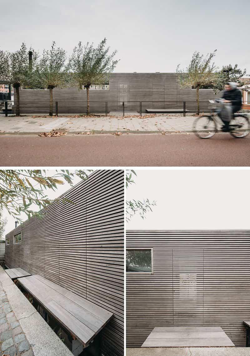 Moderna casa flotante ubicada en un r o en los pa ses bajos for Casa holandesa moderna