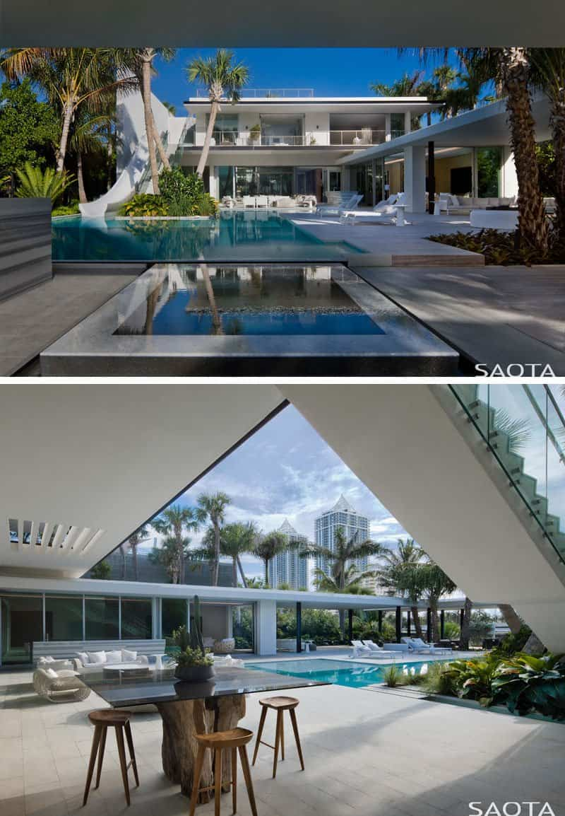 mansion en miami con tobogan 5