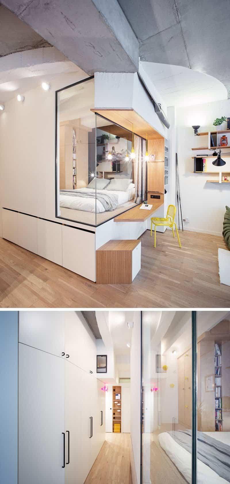 Apartamento con soluciones creativas para espacios pequeños