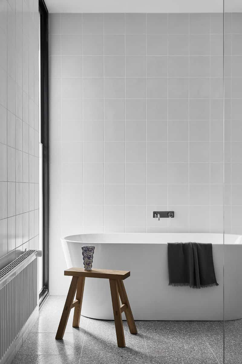 casa minimalista dos pabellones 10