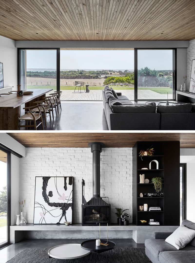 casa minimalista dos pabellones 6