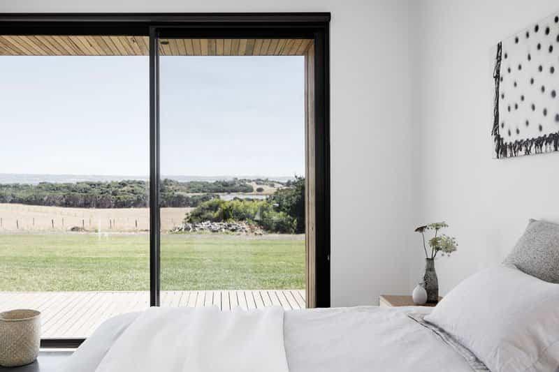 casa minimalista dos pabellones 8