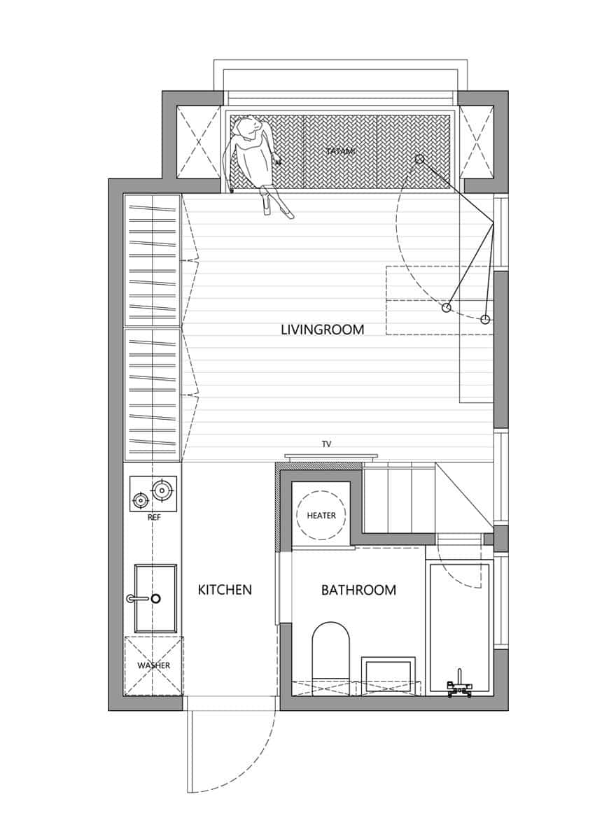 apartamento 22 metros 13