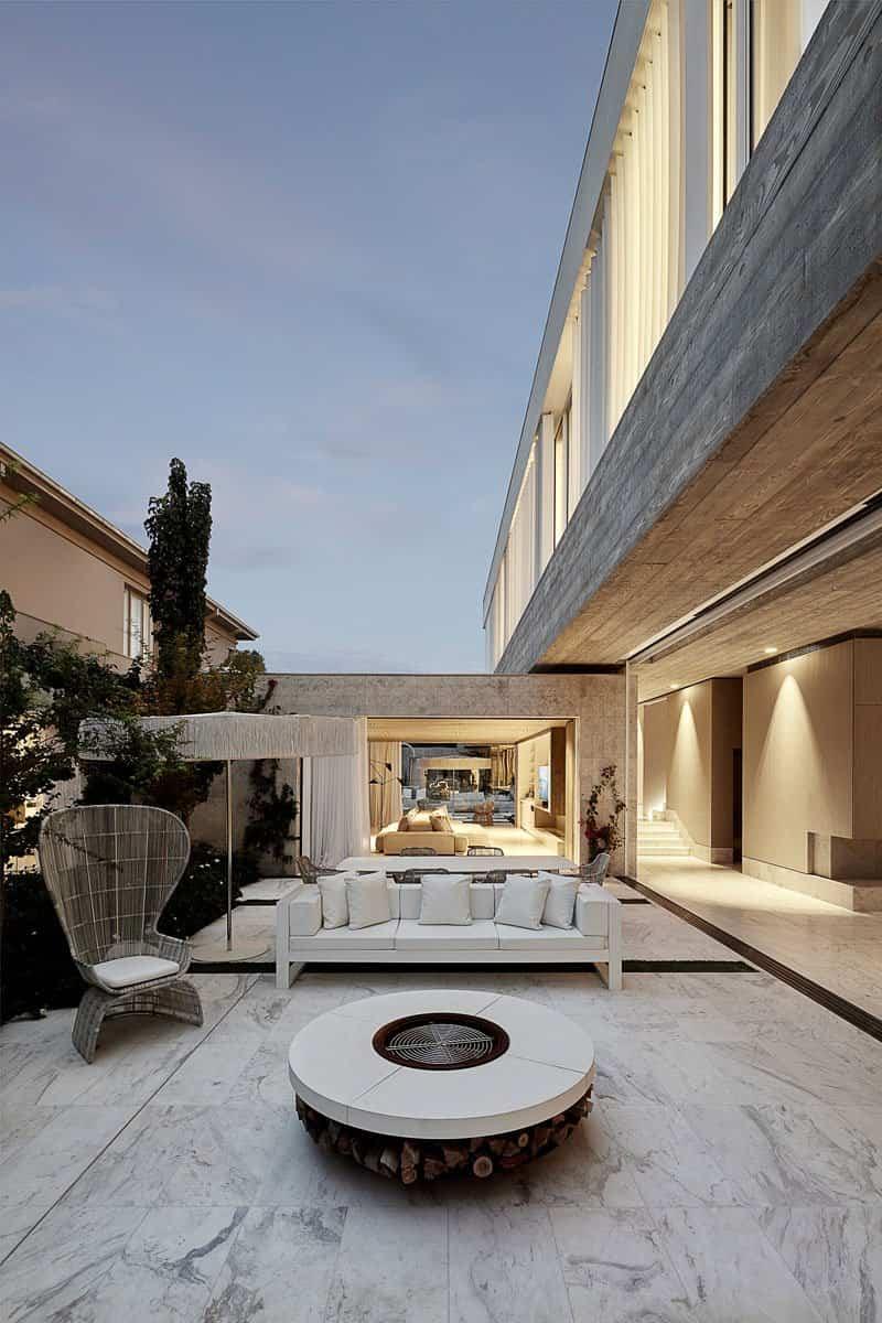 toorak casa minimalista 6