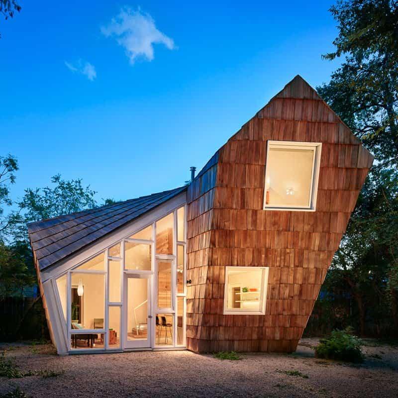 Ángulos sorprendentes los utilizados para el diseño de esta casa