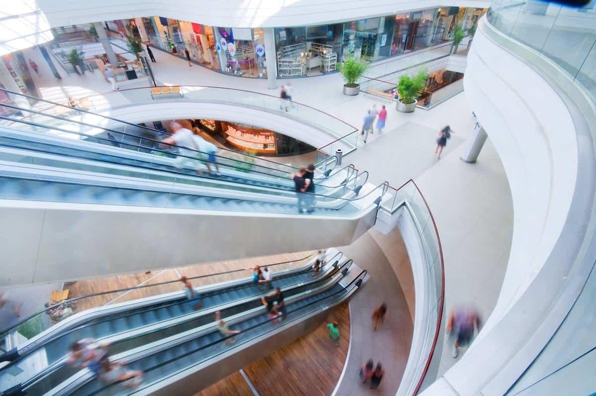 El diseño de un centro comercial influye en las ventas