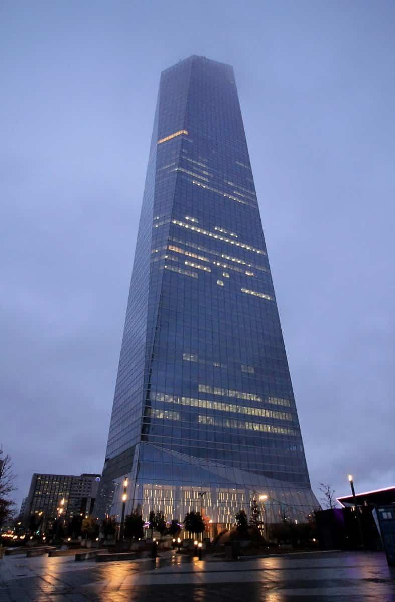 Estos son los 10 edificios más altos de Madrid