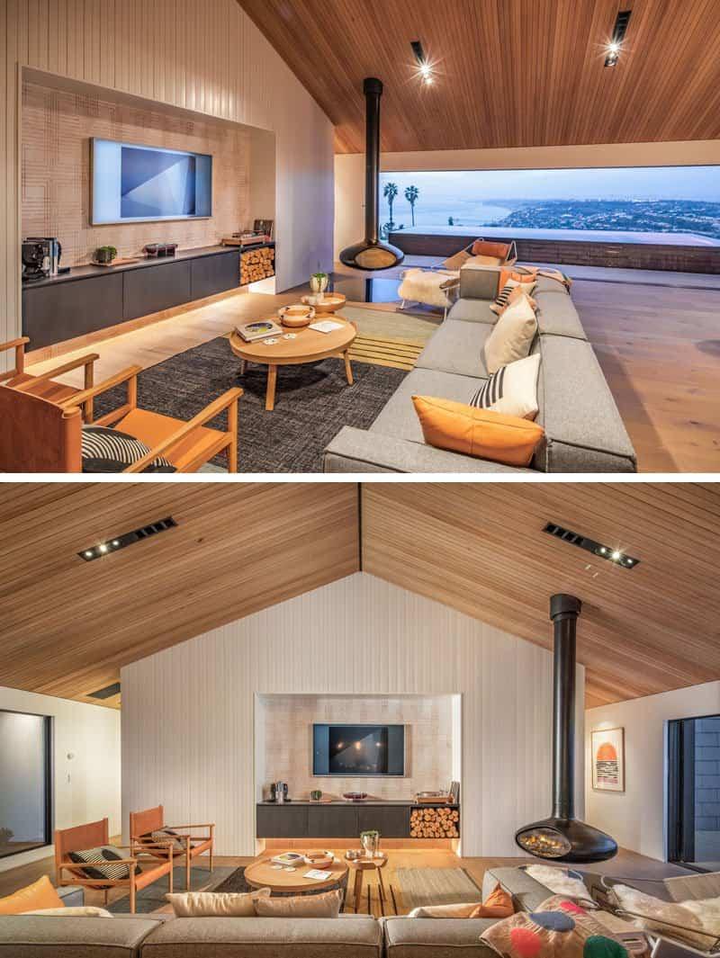 casa estilo escandinava vistas al mar 4