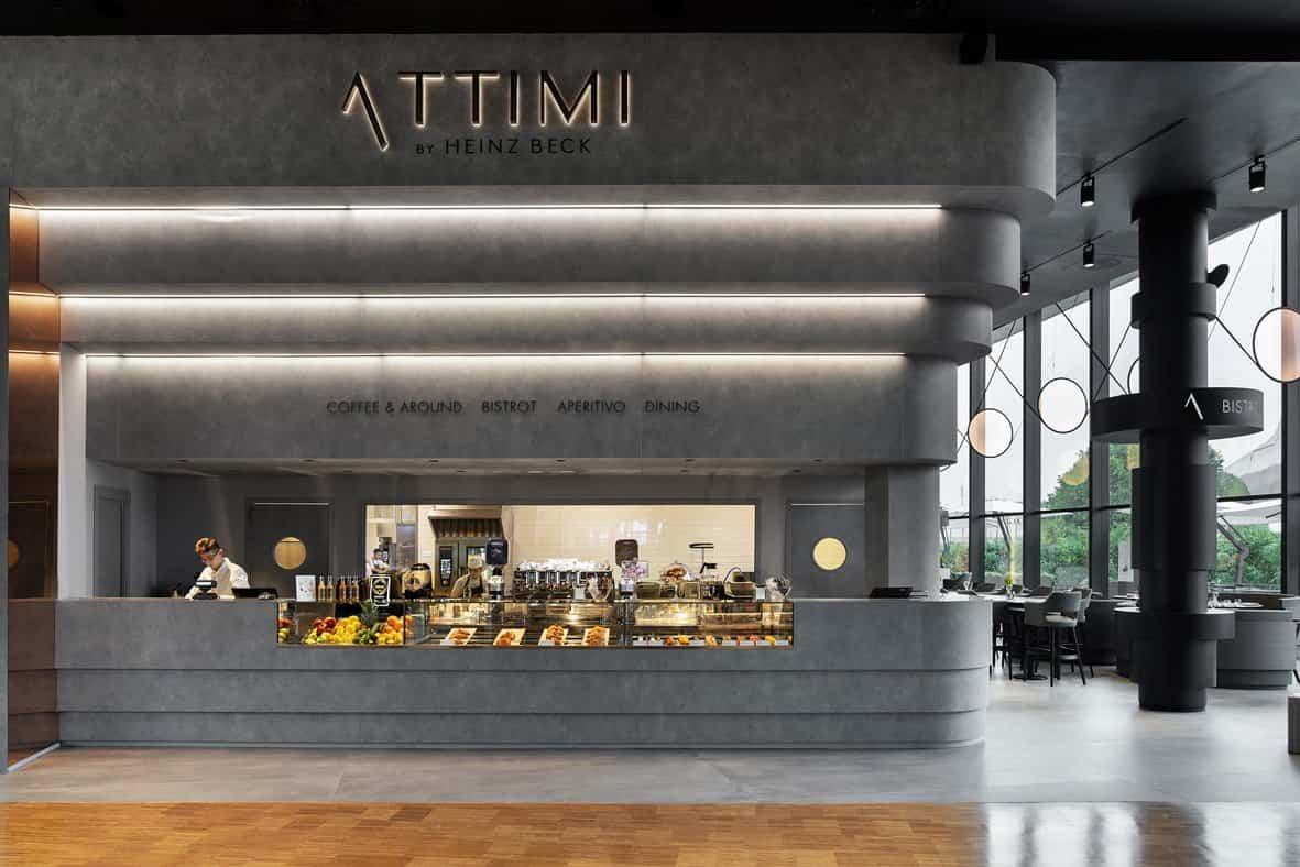 Fabio Novembre elige HI-MACS para Attimi, el nuevo restaurante de Heinz Beck en Milán