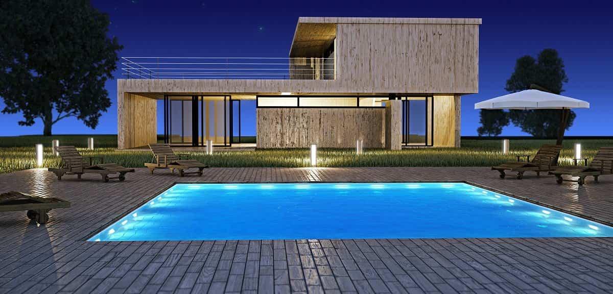 Descubre la piscina ideal para tu jardín según las dimensiones de tu casa