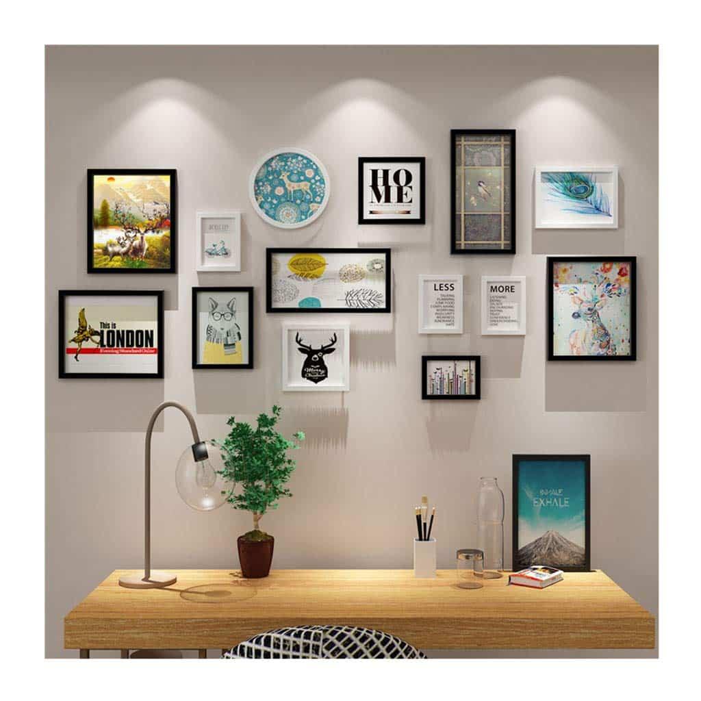 Cómo componer un collage decorativo con varios cuadros