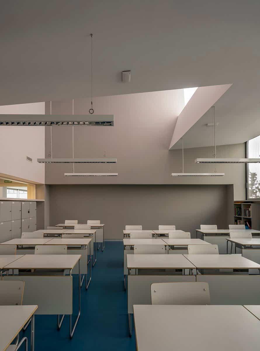 aulario b runnymede college campus rojo fernandez shaw arquitectos 2