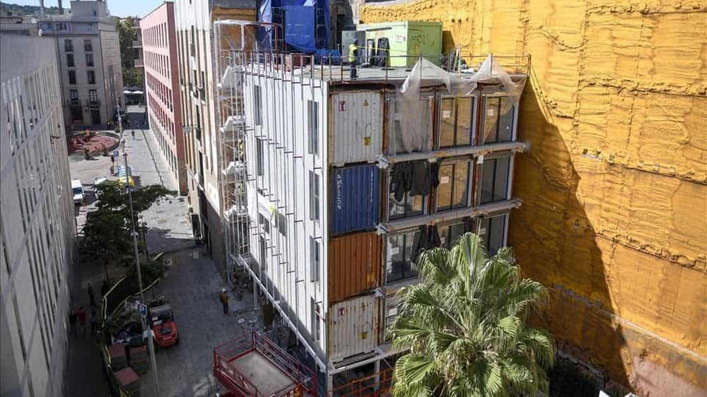 casas contenedor barcelona