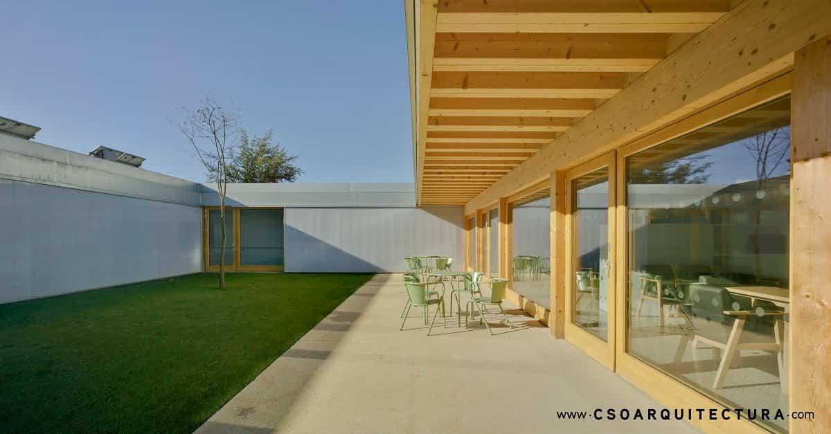 La primera residencia de ancianos Passivhaus de España finalista en los Premios FAD 2020