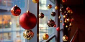 decoracion oficina navidad