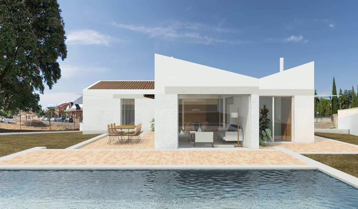 Casa LR vivienda unifamiliar con piscina